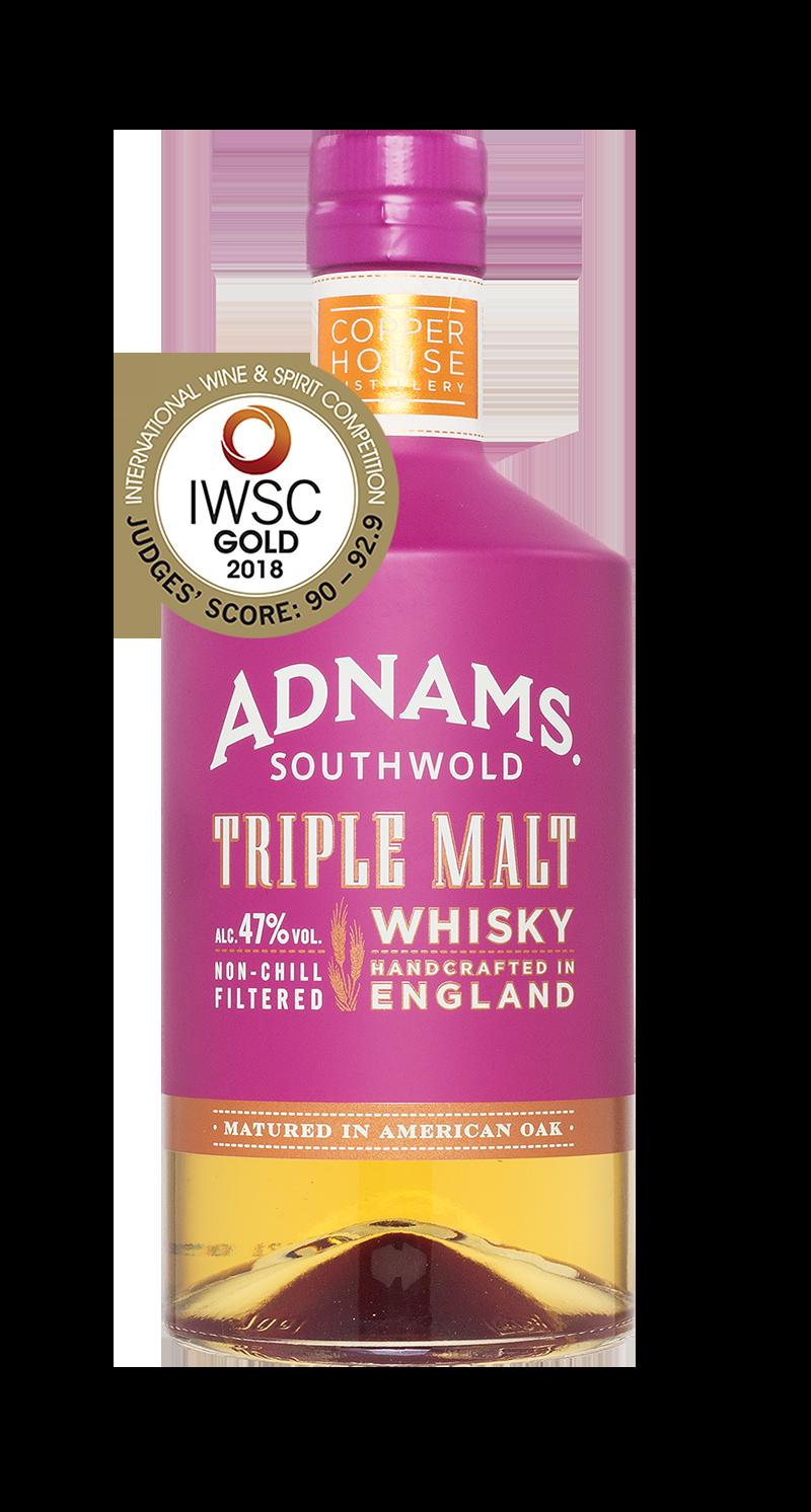 Adnams Triple Malt Whisky erhält Gold-Auszeichnung