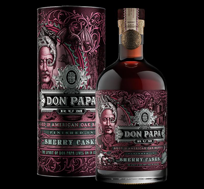Der neue Premium Rum aus Sugarlandia mit einem Finish aus vier verschiedenen Sherryfässern