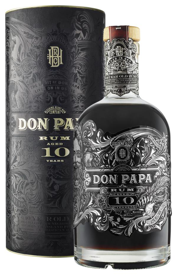 Don Papa Rum 10 Jahre – wieder verfügbar
