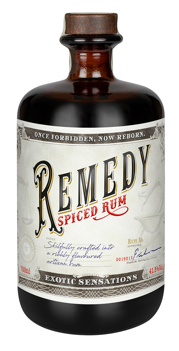 Remedy Spiced Rum von Sierra Madre