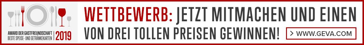 AWARD DER GASTFREUNDSCHAFT 2019
