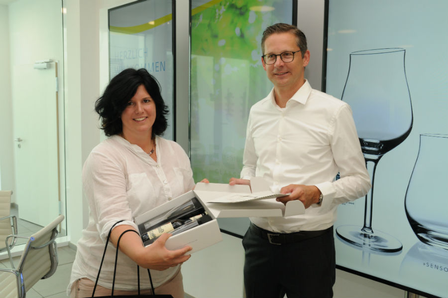 Bundestagsabgeordnete Konrad zu Besuch bei SAHM