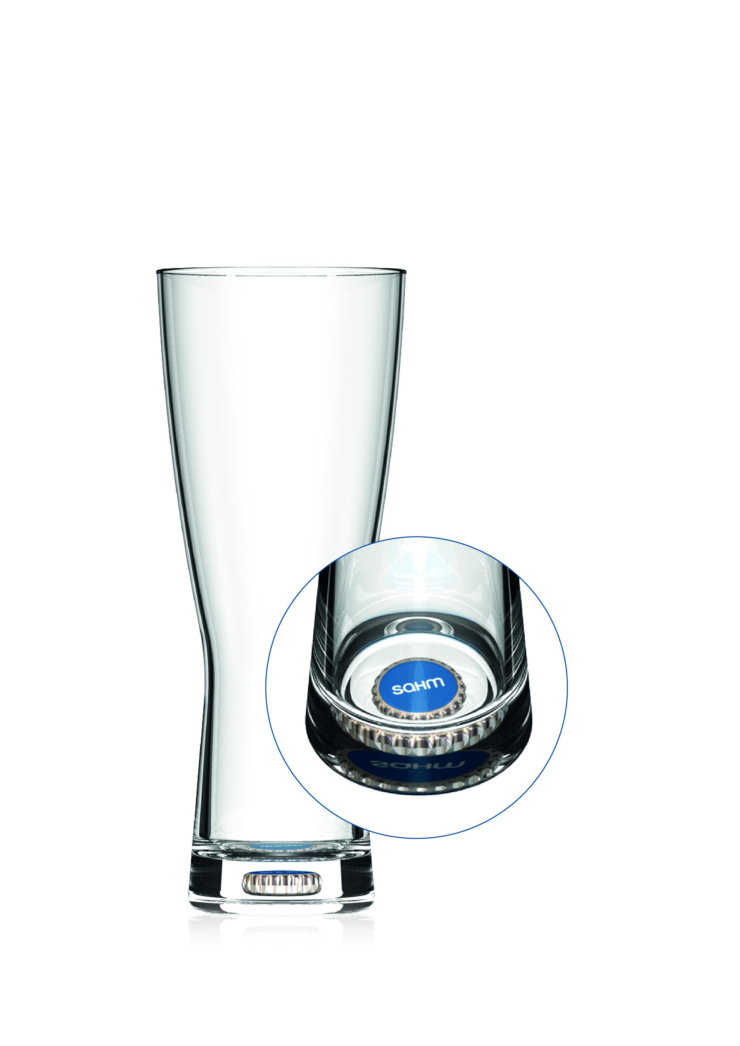 Insert-Glas von Sahm